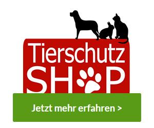Tierschutz-Shop - Gemeinsam Tieren helfen